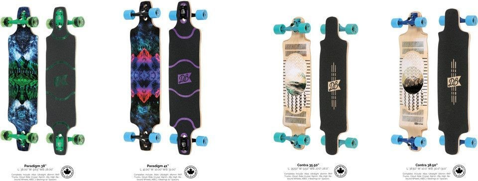 Downhill and Freeride Longboards